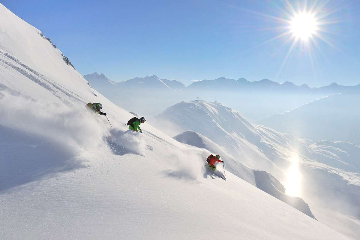 Skiing in Lech and St Anton