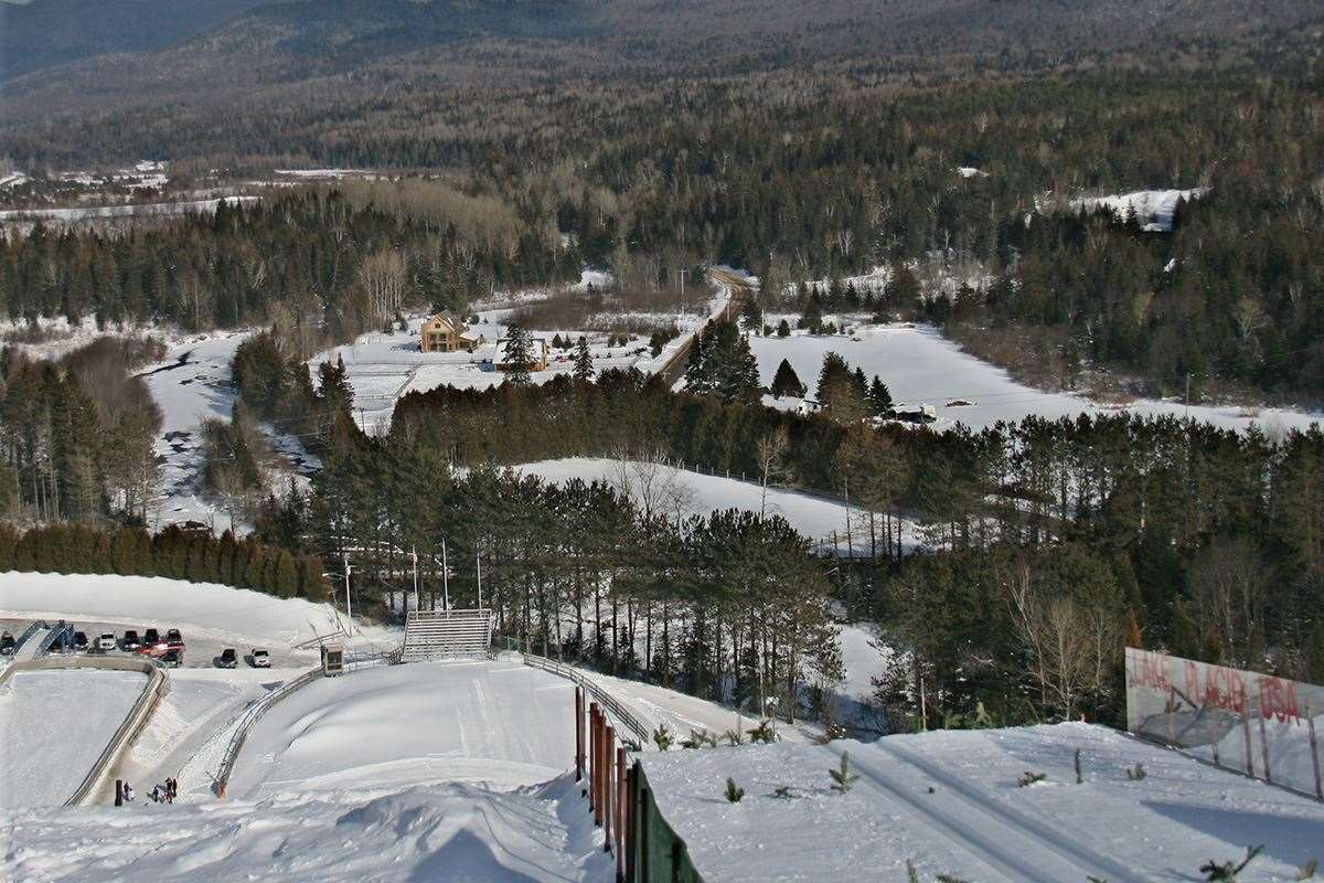 Skiing in Lake Placid