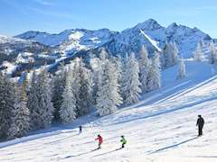 Skiing in Schladming