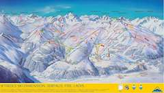 Serfaus Piste Map