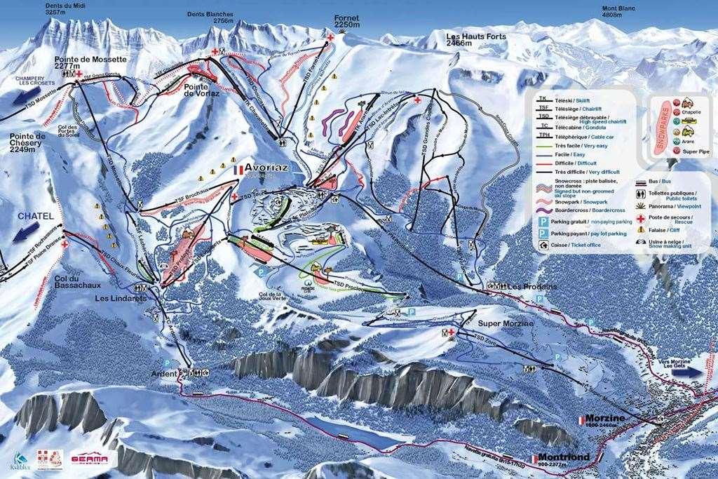 Les Prodains Skiing holidays Ski holiday Les Prodains France