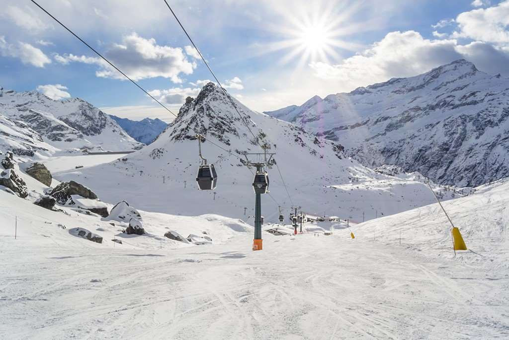 Gressoney ski resort