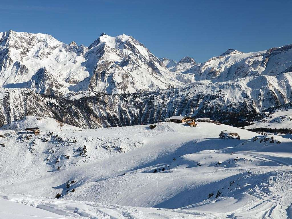 Courchevel ski resort