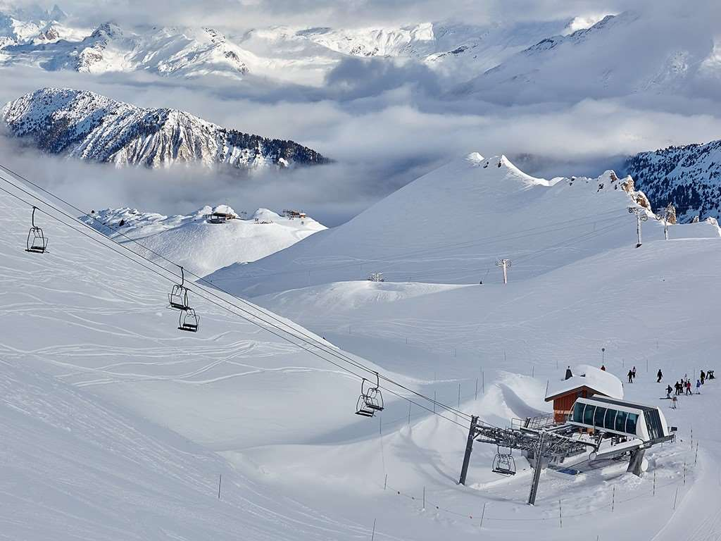 Courchevel ski area