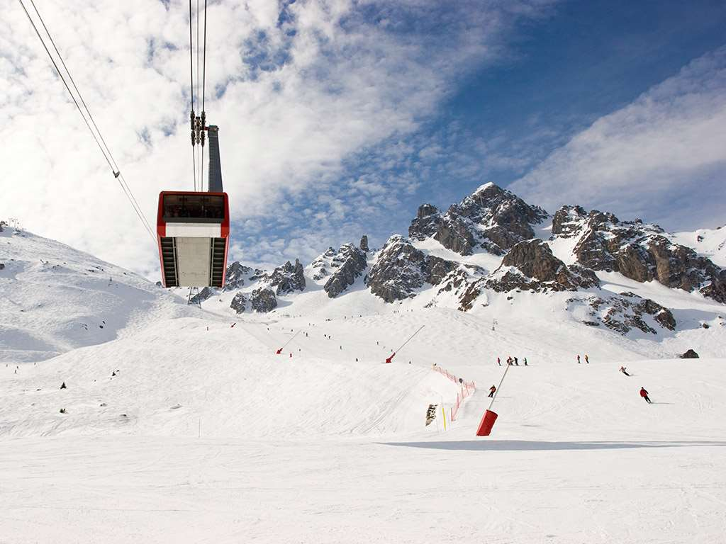 Ski lifts in Courchevel