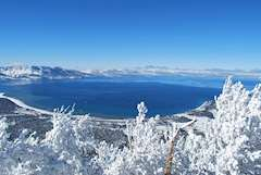 Lake Tahoe ski resort