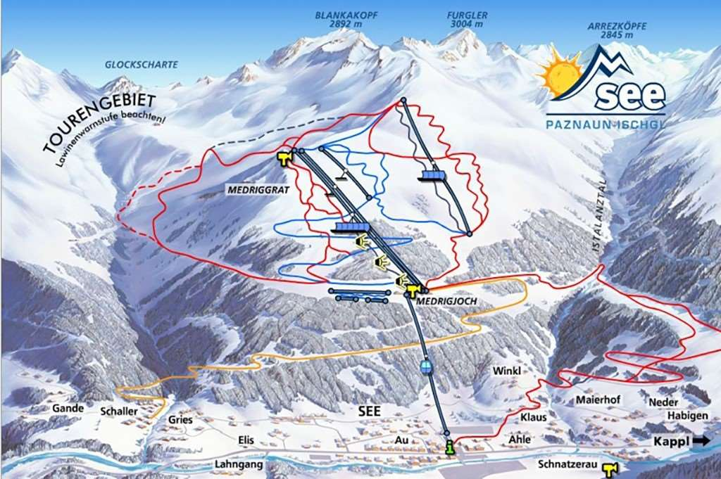 See Piste Map