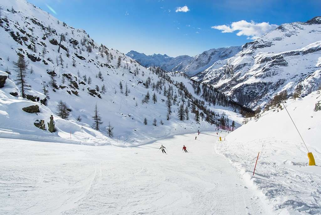 aosta ski resort