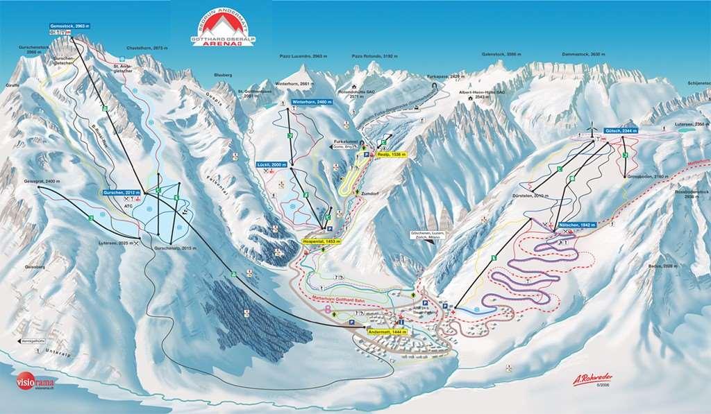Andermatt Skiing holidays Ski holiday Andermatt Switzerland