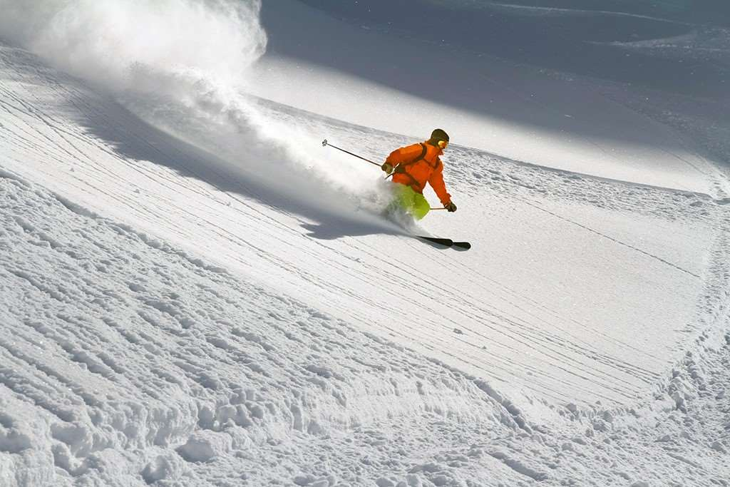 Skiing in USA