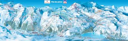 Val d\'isere piste map