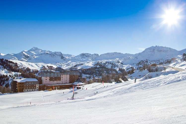 Club Med Aime La Plagne ski in - ski out