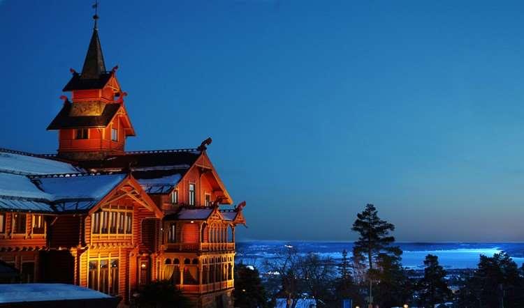 Holmenkollen Park Hotel Oslo Winterpark Norway Iglu Ski