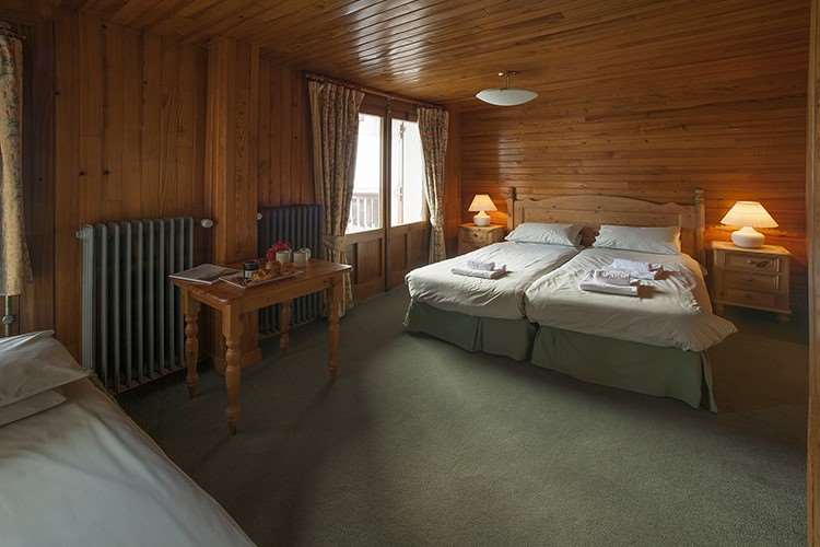 Chalet Hotel Christina bedroom