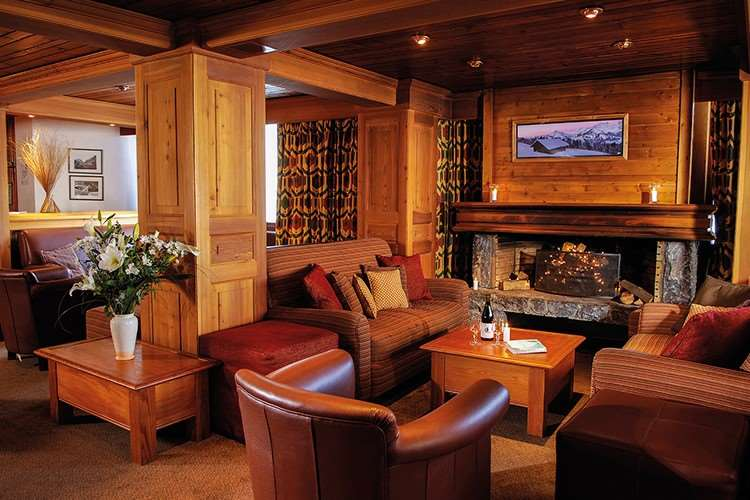Chalet Hotel Val d'Isere lounge