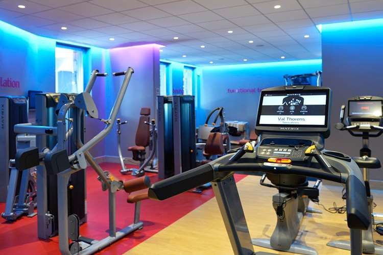 Club Med Val Thorens Sensations gym