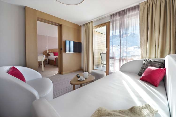 Club Med Val Thorens Sensations bedroom