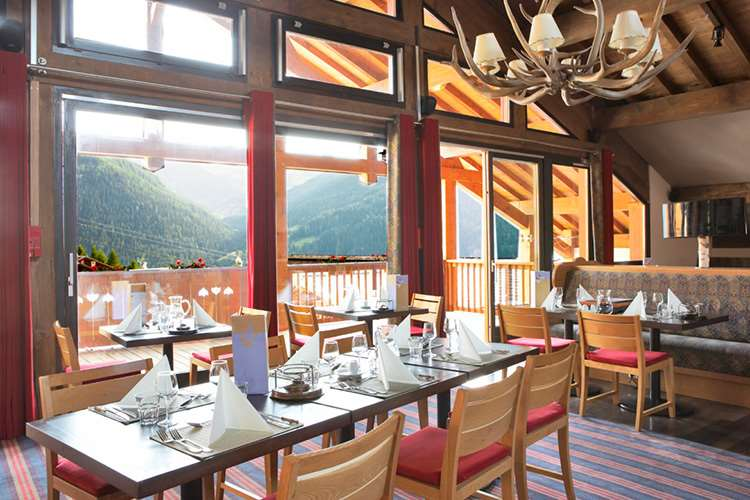 Club Med Peisey Vallandry dining room