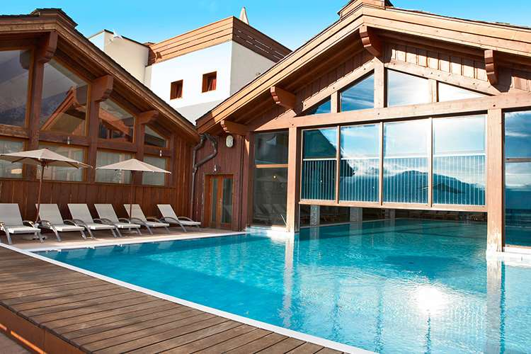 Club Med Peisey Vallandry pool