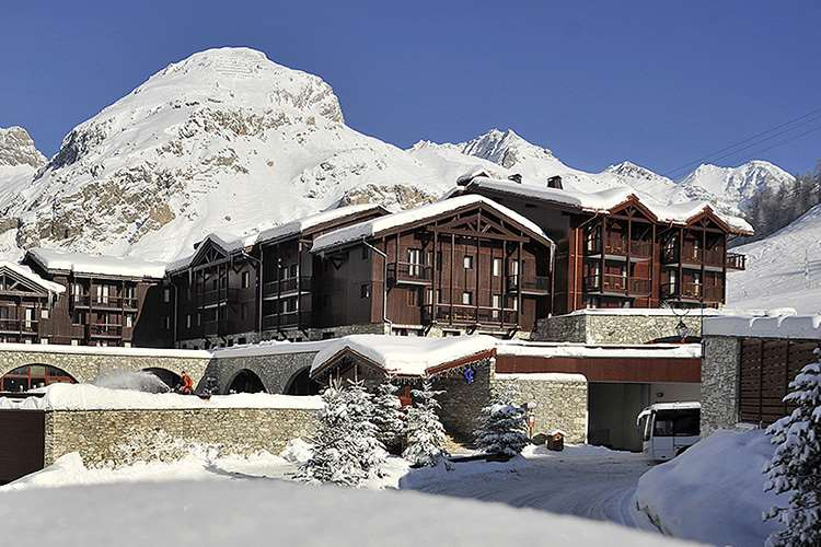 Club Med Val d'Isere outside
