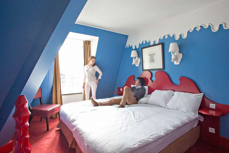 Club Med Chamonix bedroom