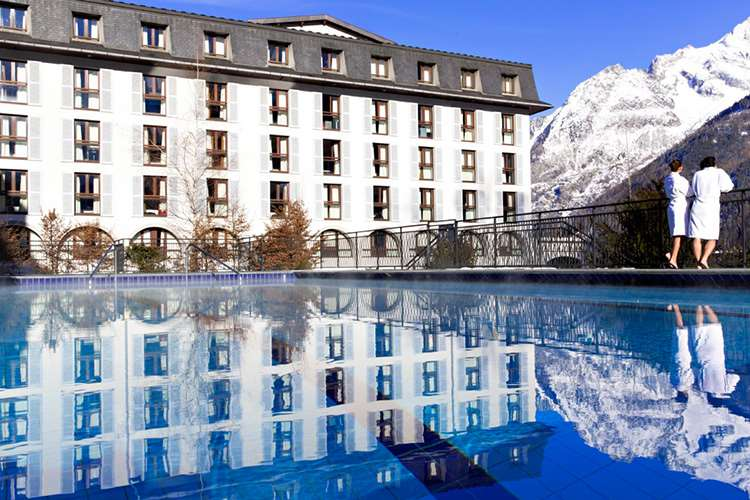 Club Med Chamonix pool