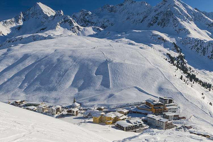 Ski holidays in Kuhtai