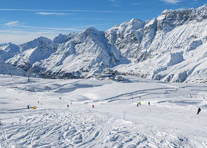 Ski holidays in Cervinia