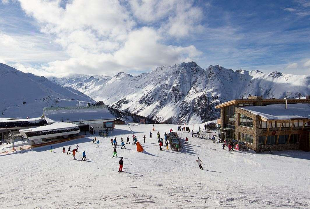 Skiing in Ischgl