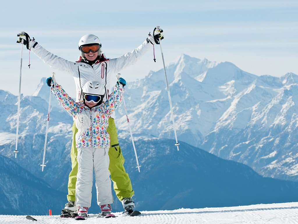 Family ski holidays in Klosters