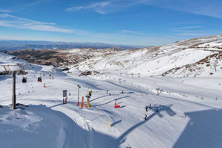 Ski holidays in Sierra Nevada