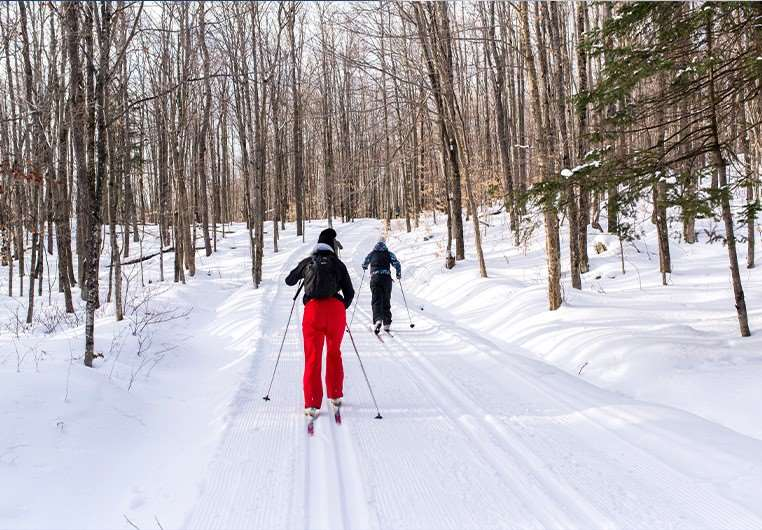 cross country skiing quebec