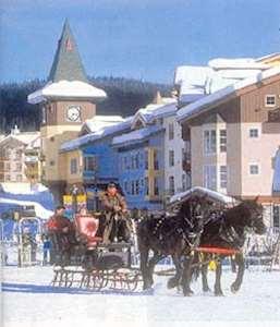 Skiing in Nancy Greene's Cahilty Lodge Hotel