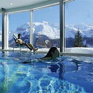 Skiing in Hotel Waldegg