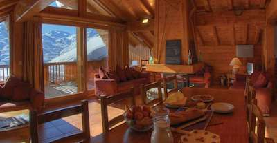 Skiing in Chalet St Michel