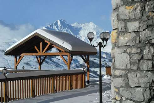 Skiing in Chalethotel La Foret