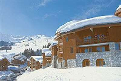 Skiing in Hameau des Teppes - Valmorel Apartments