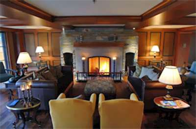 Skiing in Hotel Quintessence