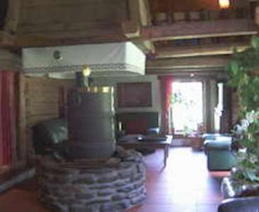 Skiing in Le Bossey - 7-room chalet 160 m2