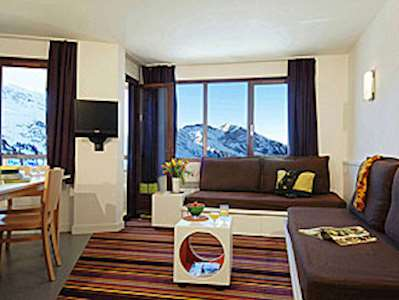 Skiing in Résidence Maeva Antarès - 2-room apartments for 4 persons