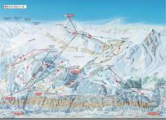 Murren Piste Map