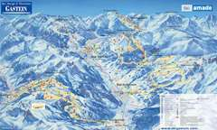 Bad Hofgastein Piste Map