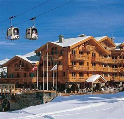 Best all round resorts Courchevel