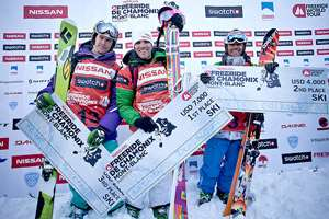 French Dominate Chamonix's Italian Freeride Competition