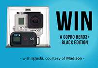 Win a GoPro HERO 3+ Black Edition