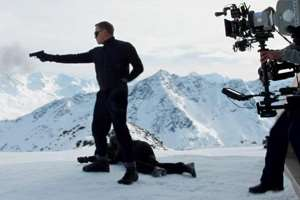 First footage of new James Bond film shot in Austria