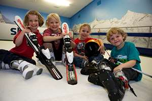 Keep your kids busy this half term with fun snowsport activities