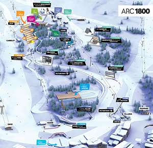 New £36m alpine playground, Mille 8, launched last week in Les Arcs
