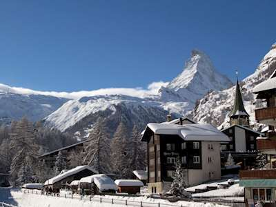 Picturesque ski resorts