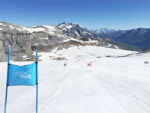 Tignes is open for summer skiing